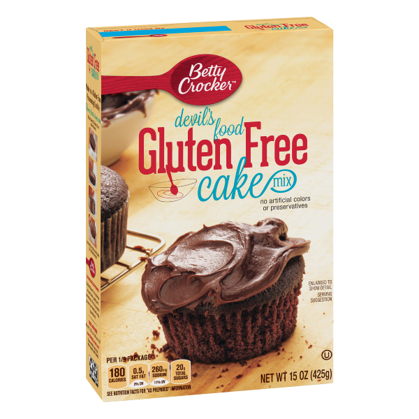Betty Crocker Gluten Free Devil's Food Cake Mix