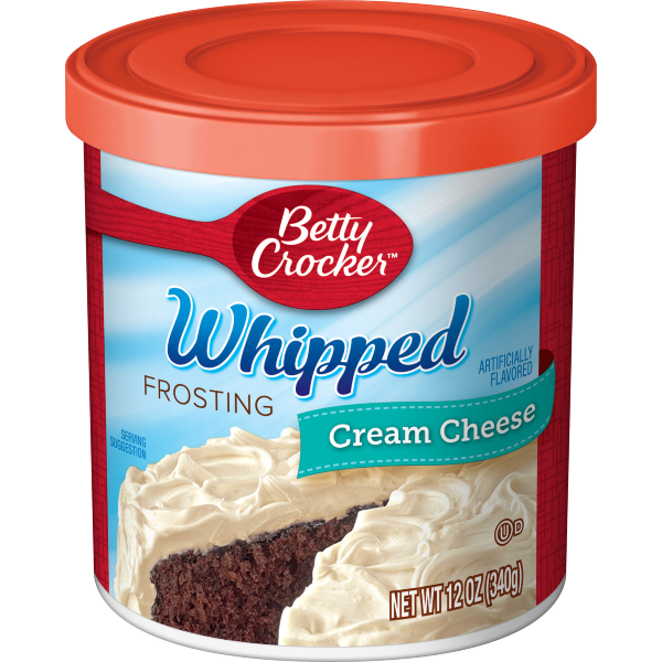 Betty Crocker Whipped Cream Cheese Frosting 12oz