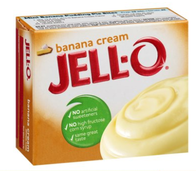 Jell-O Instant Banana Cream Pudding Mix