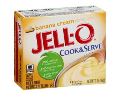 Jell-O Cook & Serve Pudding Mix