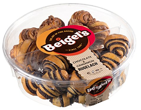 Beigel's Asstd Chocolate Rugelach Box 680gm