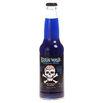 Brain Wash Soda Bottle 12oz