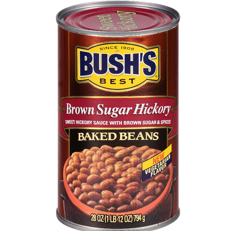 Bush's Best Brown Sugar Hickory Baked Beans 28oz