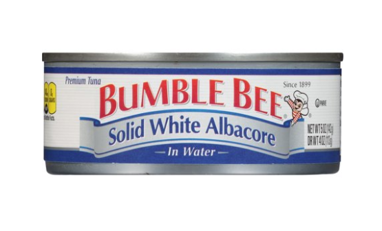 Bumble Bee Solid White Albacore in Water 5oz