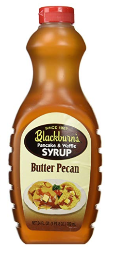 Blackburn Butter Pecan Syrup