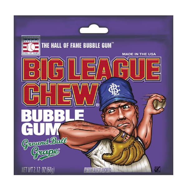 Big League Chew Gum 2.12oz
