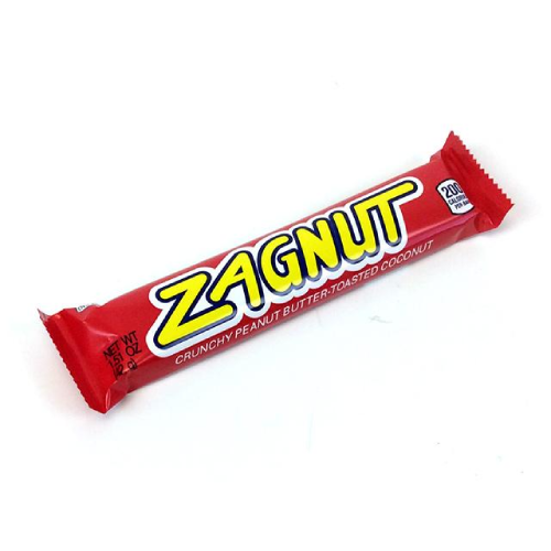 Zagnut Candy Bar