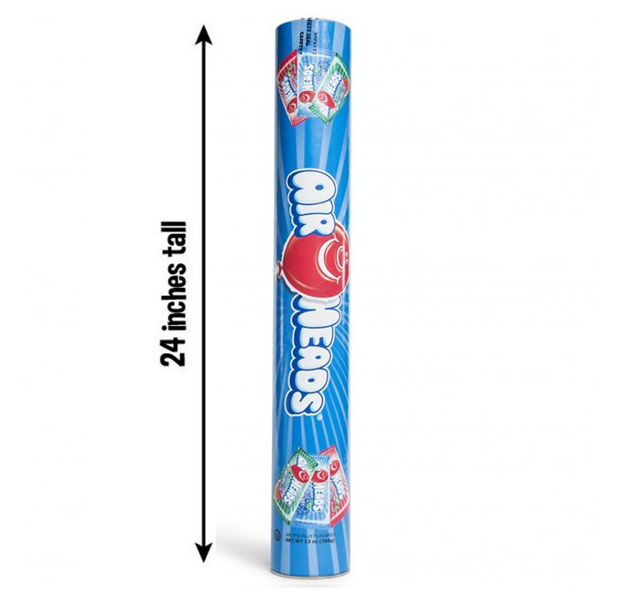 Airheads Mega Super Tube 24oz