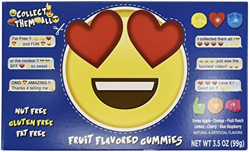 Emoji Fruit Gummies 3.5oz