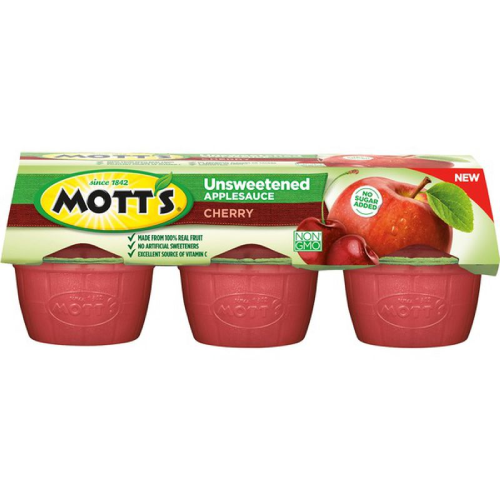 Mott's Unsweetened Cherry Applesauce