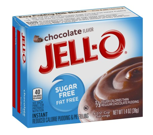 Jell-O Instant Sugar & Fat Free Chocolate Pudding