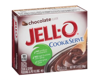 Jell-O Cook & Serve Chocolate Pudding Mix 3.4oz