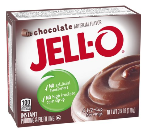 Jell-O Instant Chocolate Pudding Mix 3.9oz