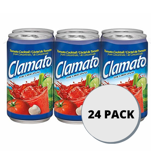 Clamato Cocktail Can 24 Pack