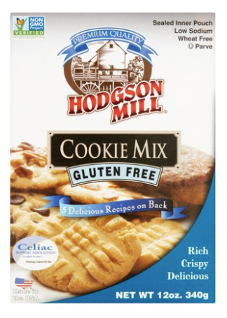 Hodsgon Mill Gluten Free Cookie Mix 12oz