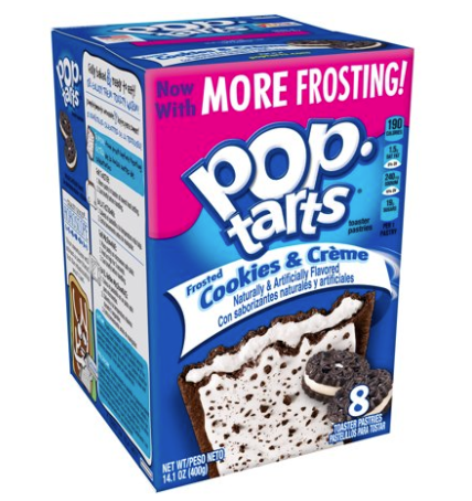 Pop Tarts Frosted Cookies & Cream