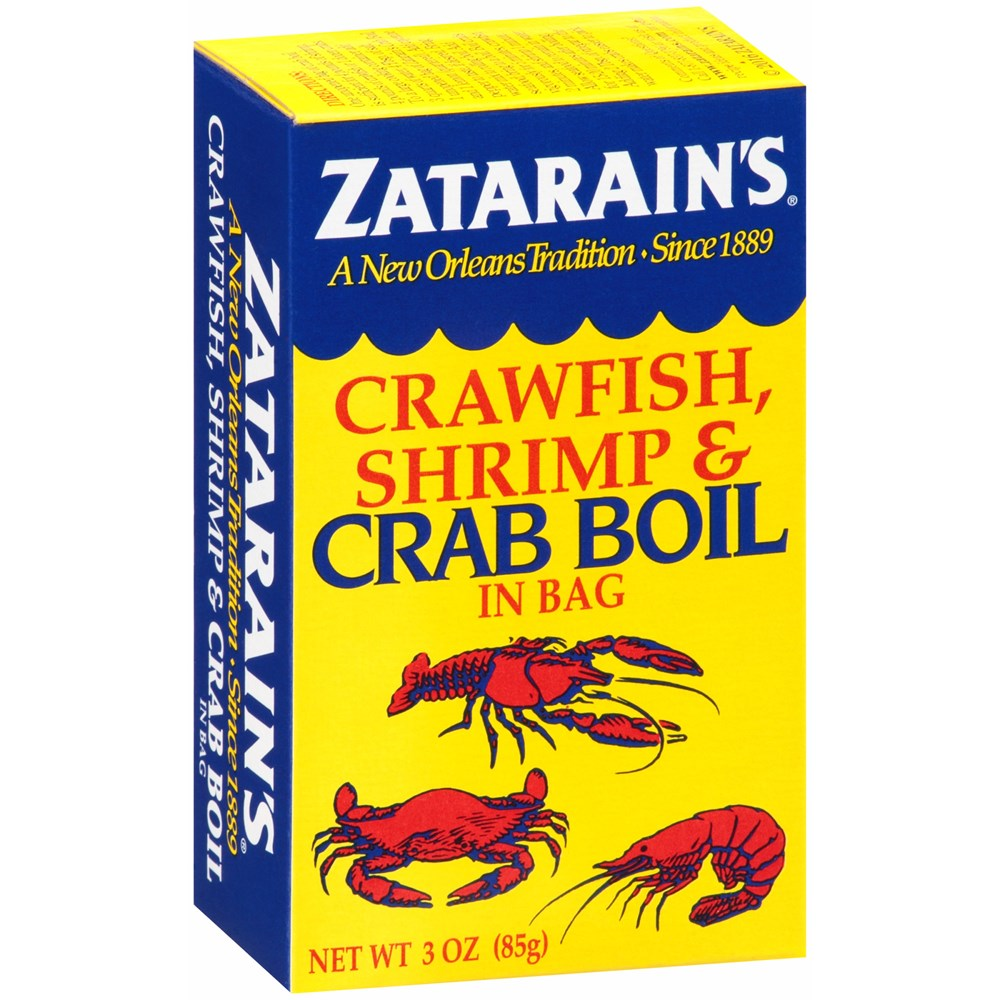 Zatarain's Crawfish Shrimp & Crab Boil in Bag 3oz
