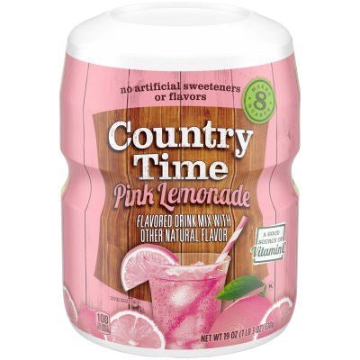 Country Time Pink Lemonade Drink Mix