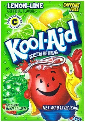 Kool Aid Drink Mix Sachet
