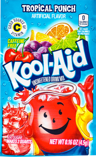 Kool Aid Tropical Punch Unsweetened Drink Mix