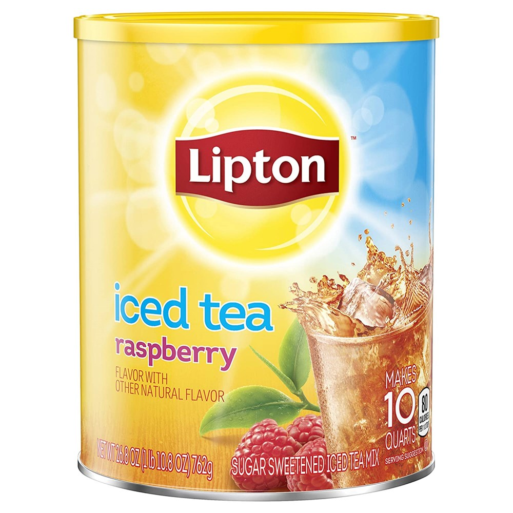 Lipton Raspberry Iced Tea Mix 10qt