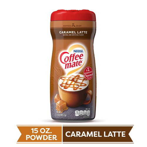Coffee-Mate Caramel Latte Powdered Creamer 15oz