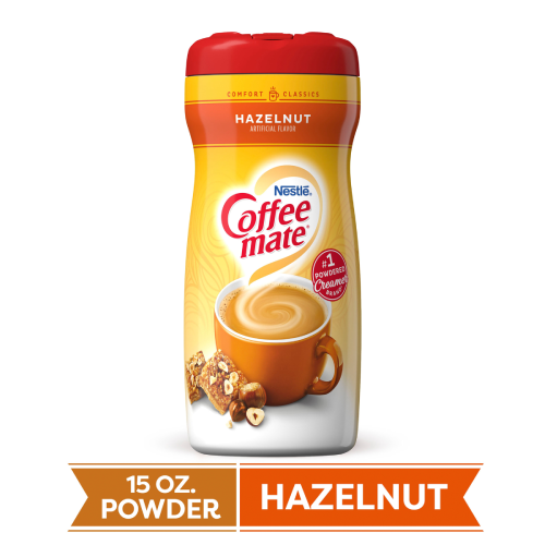 Coffee-Mate Hazelnut Powdered Creamer