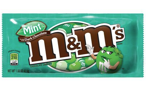 M&M's Dark Chocolate Mint