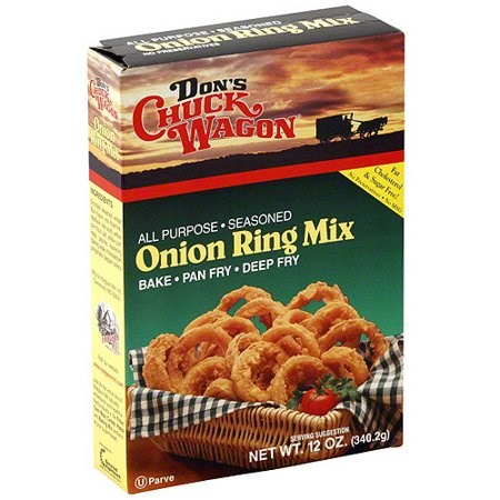 Don's Chuck Wagon Onion Ring Mix 12oz