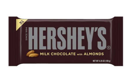 Hershey's Milk Chocolate Almond Bar