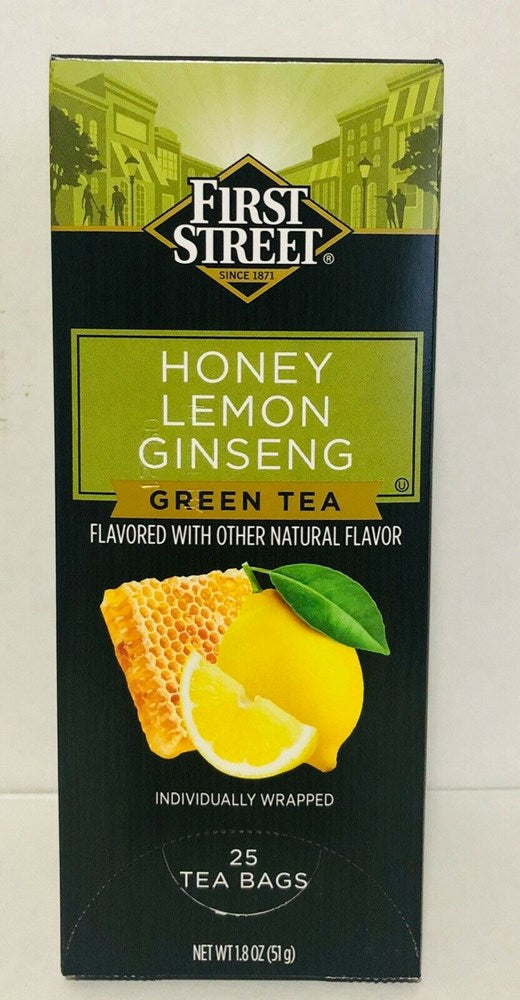 First Street Honey Lemon Ginseng 25ct