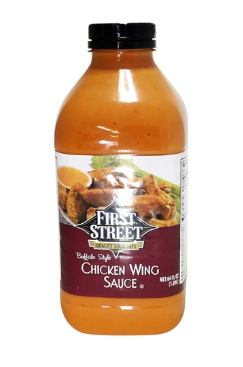First Street Buffalo Style Chicken Wing Sauce 64oz