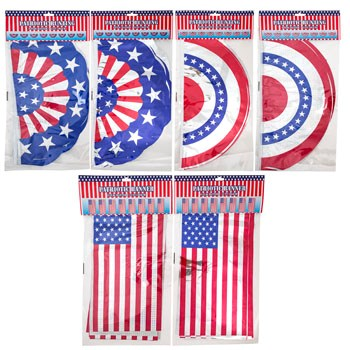 USA Patriotic Bunting Banner