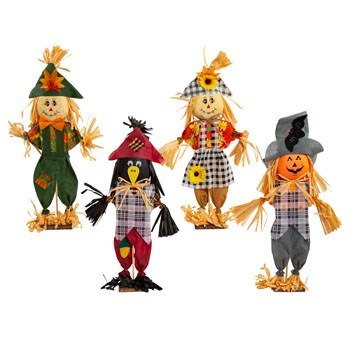Scarecrow Harvest Standing Decor