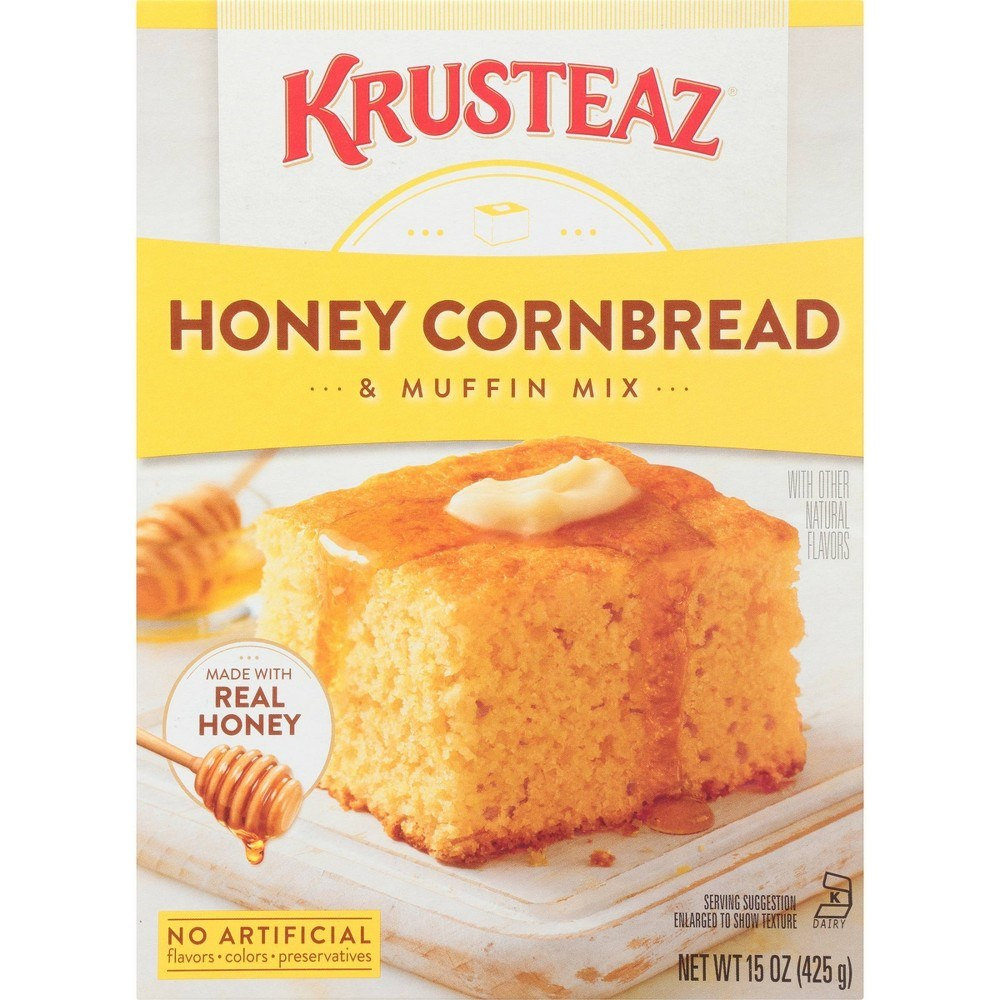 Krusteaz Honey Cornbread & Muffin Mix 15oz