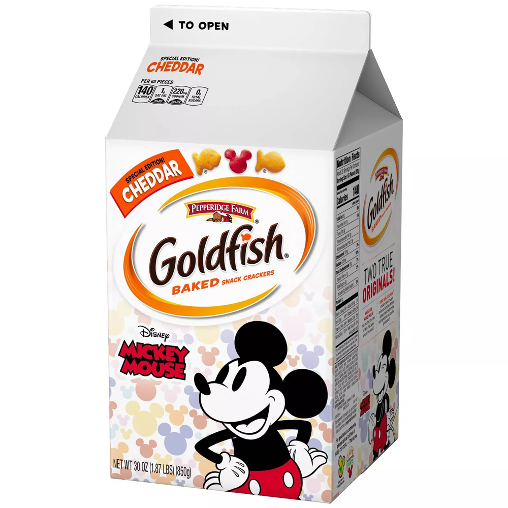 Goldfish Cheddar Mickey Mouse 30oz