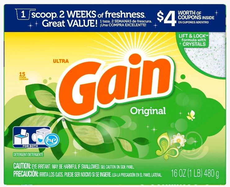 Gain Laundry Powder