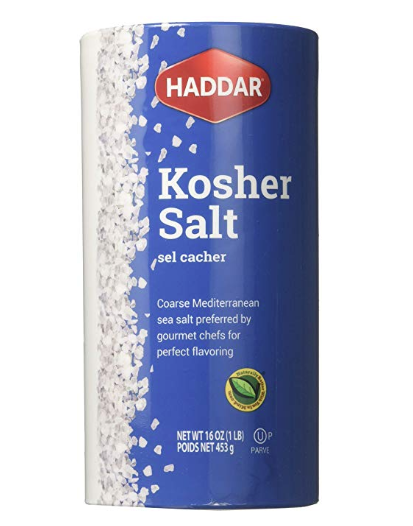 Haddar Kosher Salt 16oz