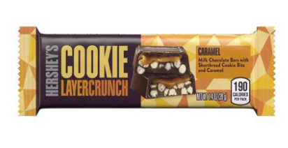 Hershey's Cookie Layer Crunch Caramel 1.4oz