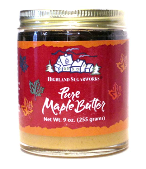 Highland Sugar Pure Maple Butter 9oz