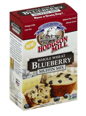 Hodgson Mill Whole Wheat Blueberry Muffin Mix 6oz