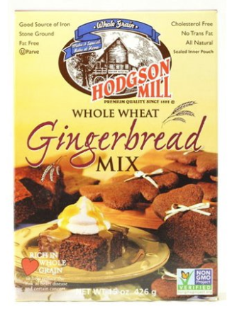 Hodgson Mill Whole Wheat Gingerbread Mix