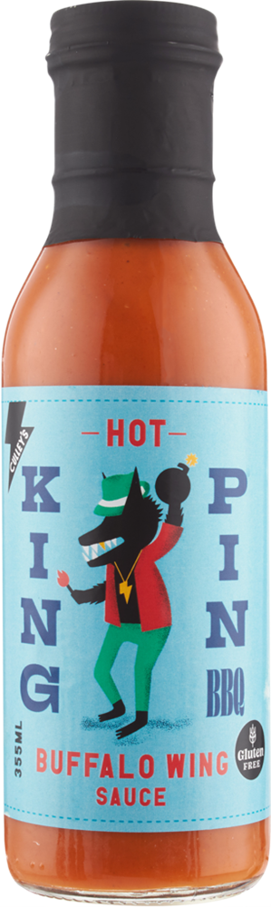Culley S King Pin Hot Buffalo Wing Sauce 355ml Usafoods