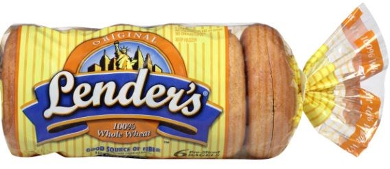 Lender's Whole Wheat Bagels 6ct [Click & Collect Only]