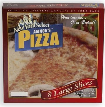 New York Select Amnon's Pizza 8ct [Click & Collect Only]