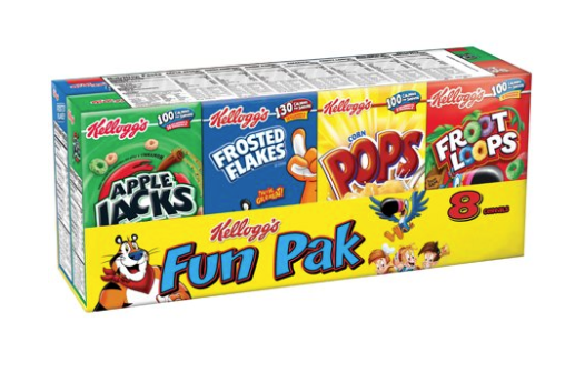Fun Pack 8 Cereal Pack