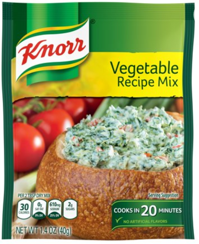 Knorr Vegetable Recipe Mix 1.4oz