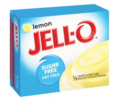 Jell-O Instant Sugar & Fat Free Lemon Pudding Mix
