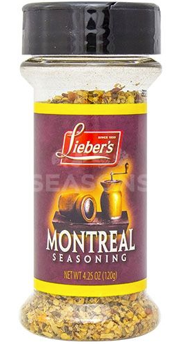 Lieber's Montreal Steak Seasoning 120g