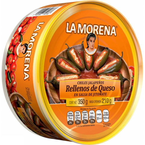 La Morena Jalapenos Filled with Cheese
